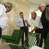Nositel Pritzkerovy ceny za architekturu Eduardo Elísio Machadu Souto de Moura ve vile TUGENDHAT ve fotoreportáži Davida Židlického