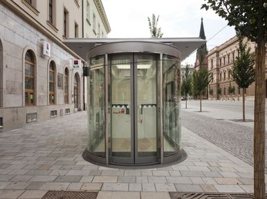 Civitas Elan Brno - interiéry Corian