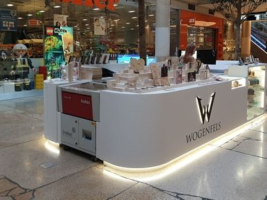 KIOSEK WOGENFELS GmbH, PlusCity, Pasching, Rakousko