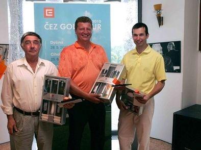 AMOSDESIGN - Trofeje pro ČEZ GOLF TOUR 2010