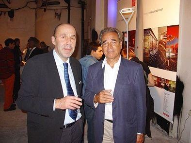 Slavný designér Alberto Meda a Vladimír Ambroz - setkání u příležitosti DESIGNBLOKu v Praze