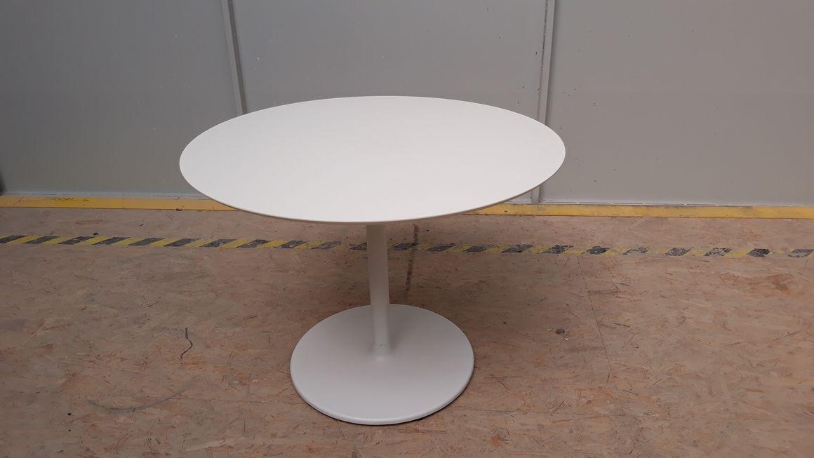 kulatý stolek - kov/kompakt